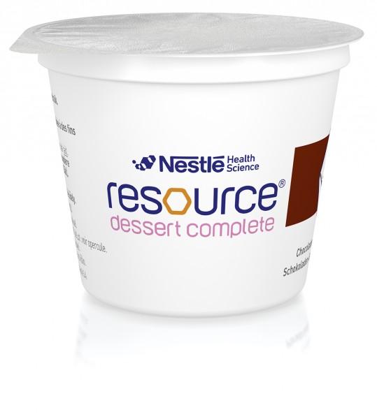 Nestlé Resource Dessert Complete Schokolade (4x125g)