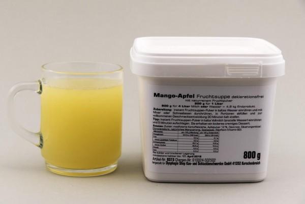 Instant Fruchtsuppe Mango-Apfel