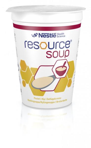Nestlé Resource Soup Geflügelcreme (4x200ml)
