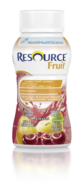 Nestlé Resource Fruit Birne-Kirsche (4x200ml)