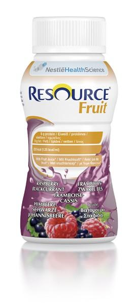 Nestlé Resource Fruit Himbeere-Schwarze Johannisbeere (4x200ml)