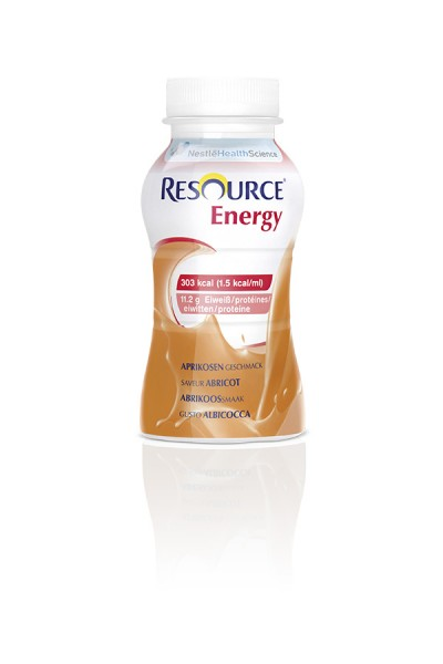 Nestlé Resource Energy Aprikose (4x200ml)