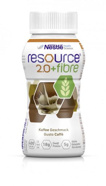 Nestlé Resource 2.0+fibre Kaffee (4x200ml)