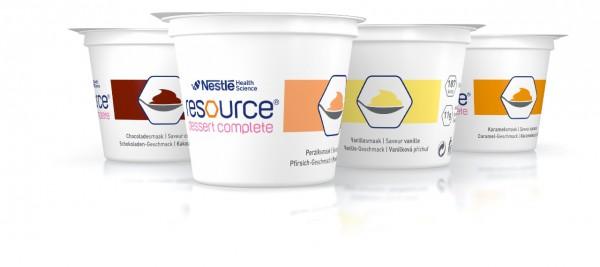 Nestlé Resource Dessert Complete Mischkarton (4x125g)