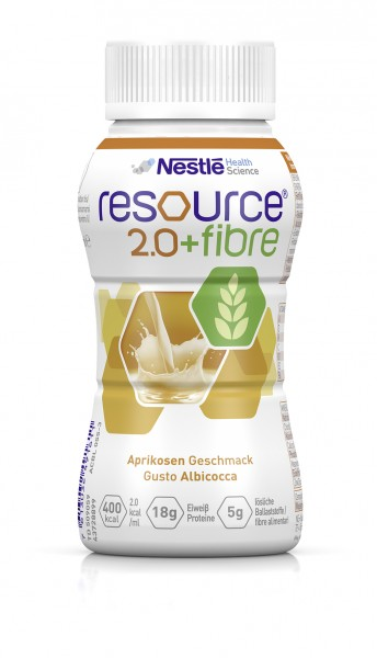 Nestlé Resource 2.0+fibre Aprikose (4x200ml)