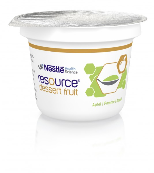 Nestlé Resource Dessert Fruit Apfel (36x125g)