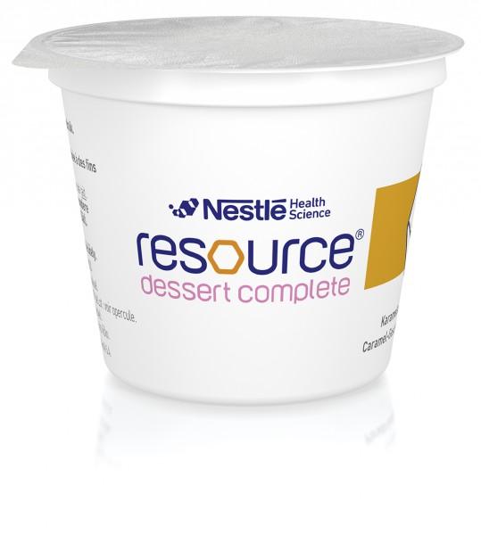 Nestlé Resource Dessert Complete Caramel (4x125g)