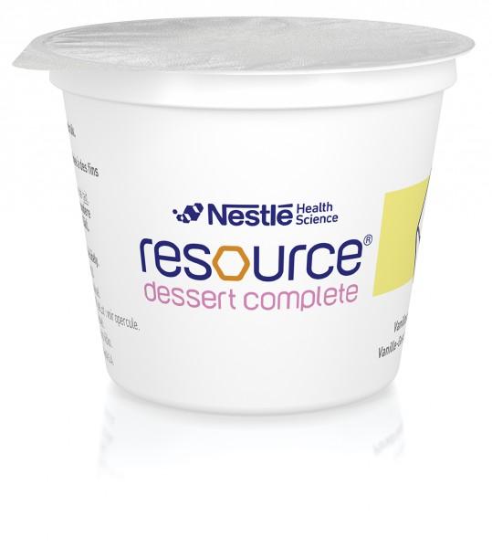 Nestlé Resource Dessert Complete Vanille (4x125g)