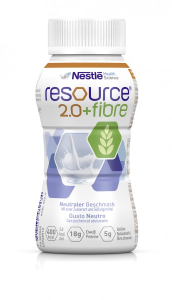 Nestlé Resource 2.0+fibre Neutral (4x200ml)