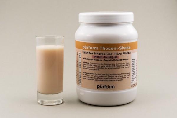 Hochkalorischer Shake - Pfirsich-Geschmack